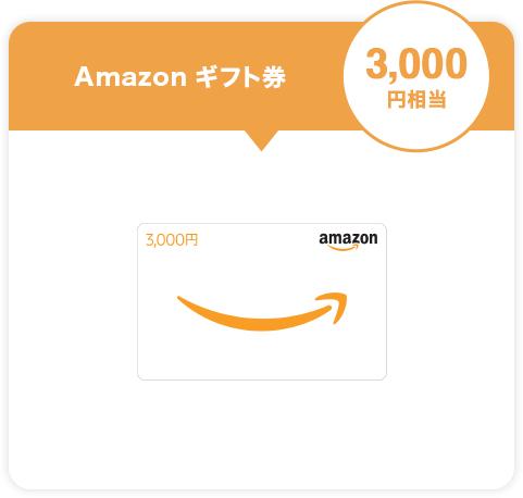 Amazon ギフト券 3,000円相当
